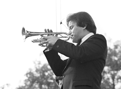 Warren Vache 0317817 Capital Jazz Festival, Knebworth, UK July 1982 Images of Jazz