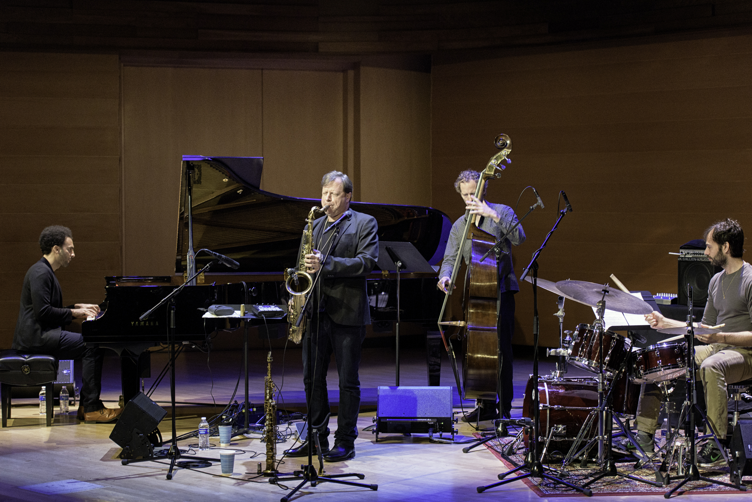 David Virelles, Chris Potter, Ben Street And Dan Weiss With The Chris Potter Quartet At The Musical Instrument Museum (mim) In Phoenix