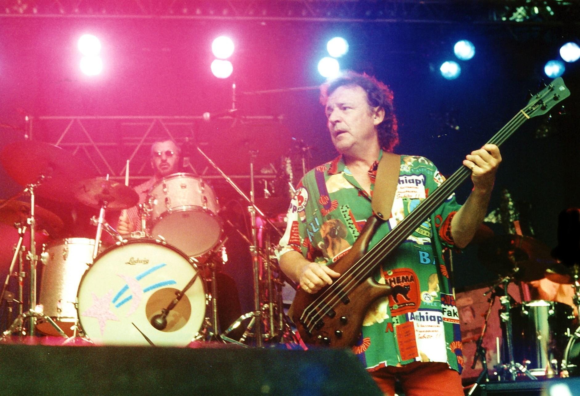 Jack Bruce BG + Ringo Starr DM