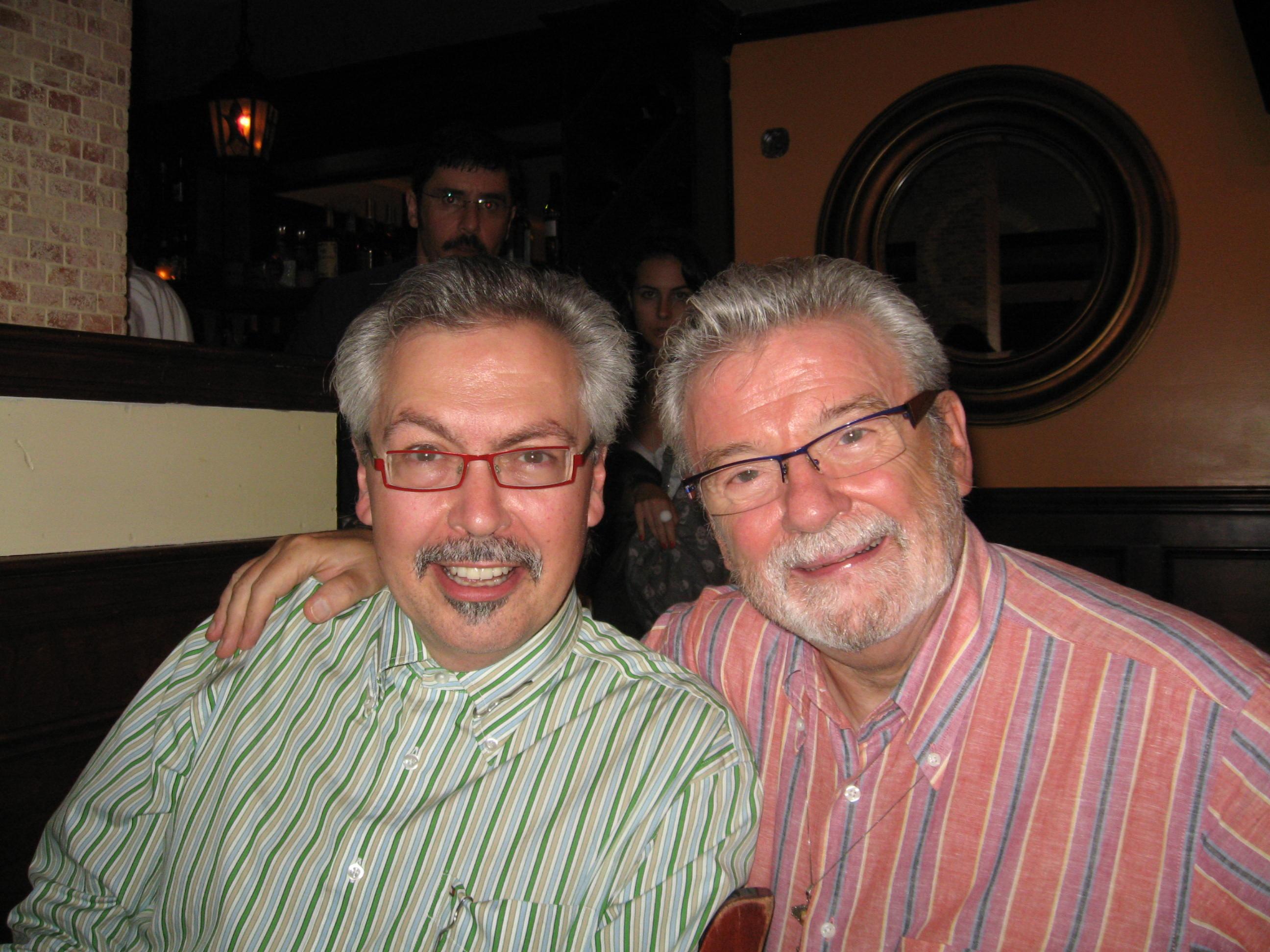 Bill McBirnie & Sir James Galway