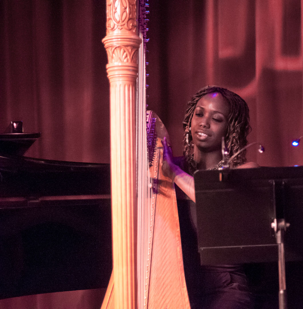 Brandee Younger with the Ravi Coltrane Quartet at Birdland