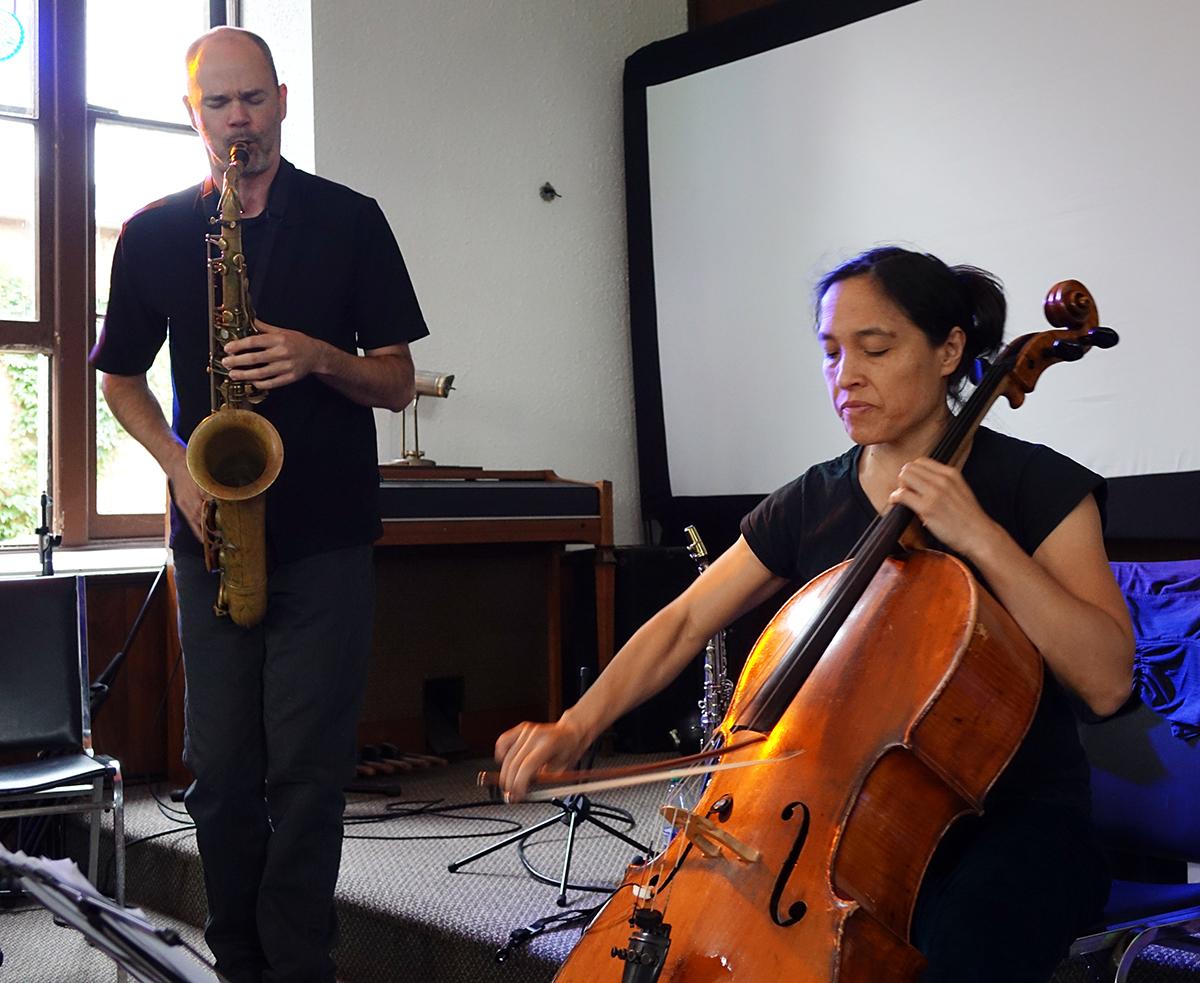 Jon Bentley & Peggy Lee at Guelph Jazz Festival 2015