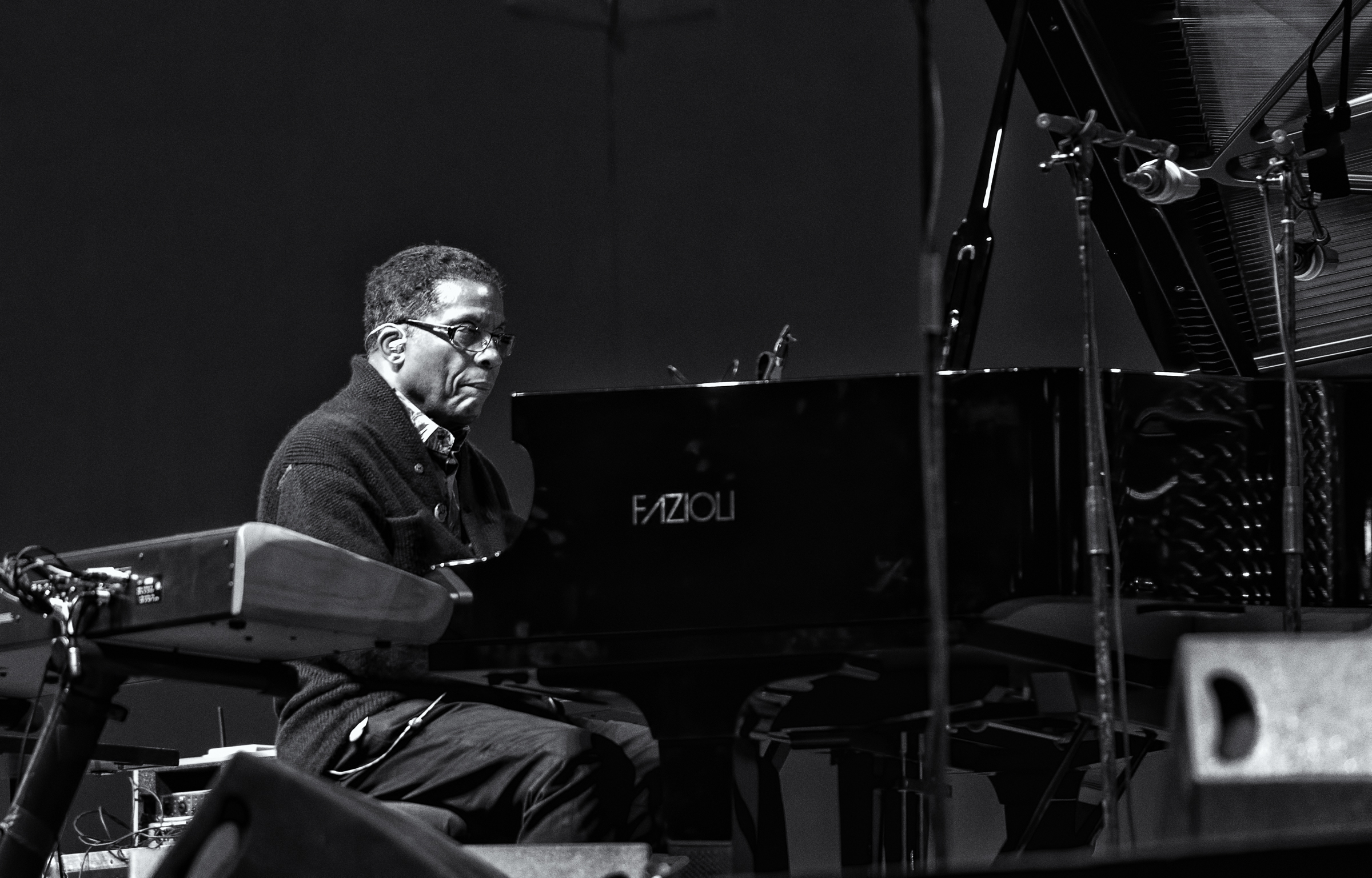 Herbie Hancock at the Monterey Jazz Festival