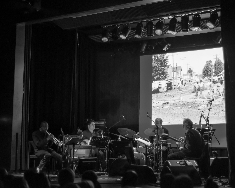 Bill Frisell/Bill Morrison, 2012 Enjoy Jazz Festival