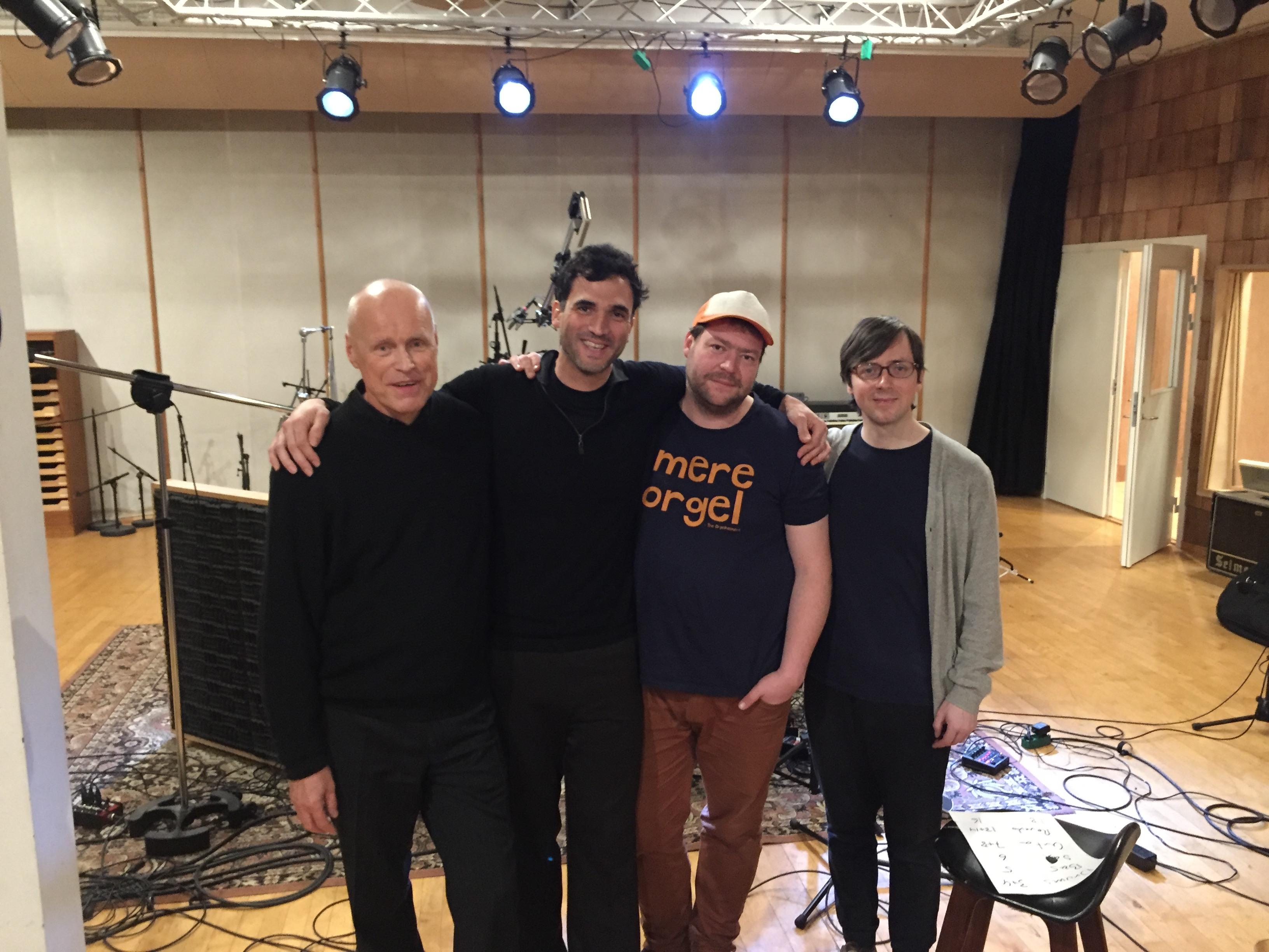 Scott DuBois AUTUMN WIND Recording Session