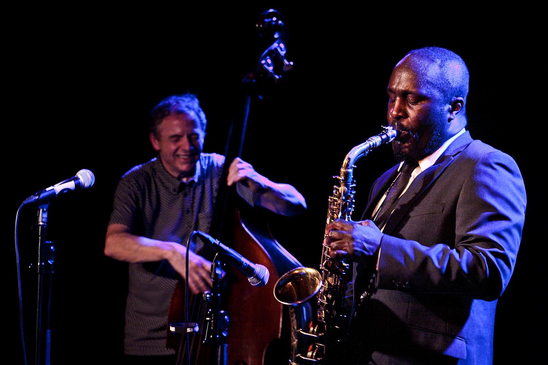 Alan Niblock and Tony Kofi