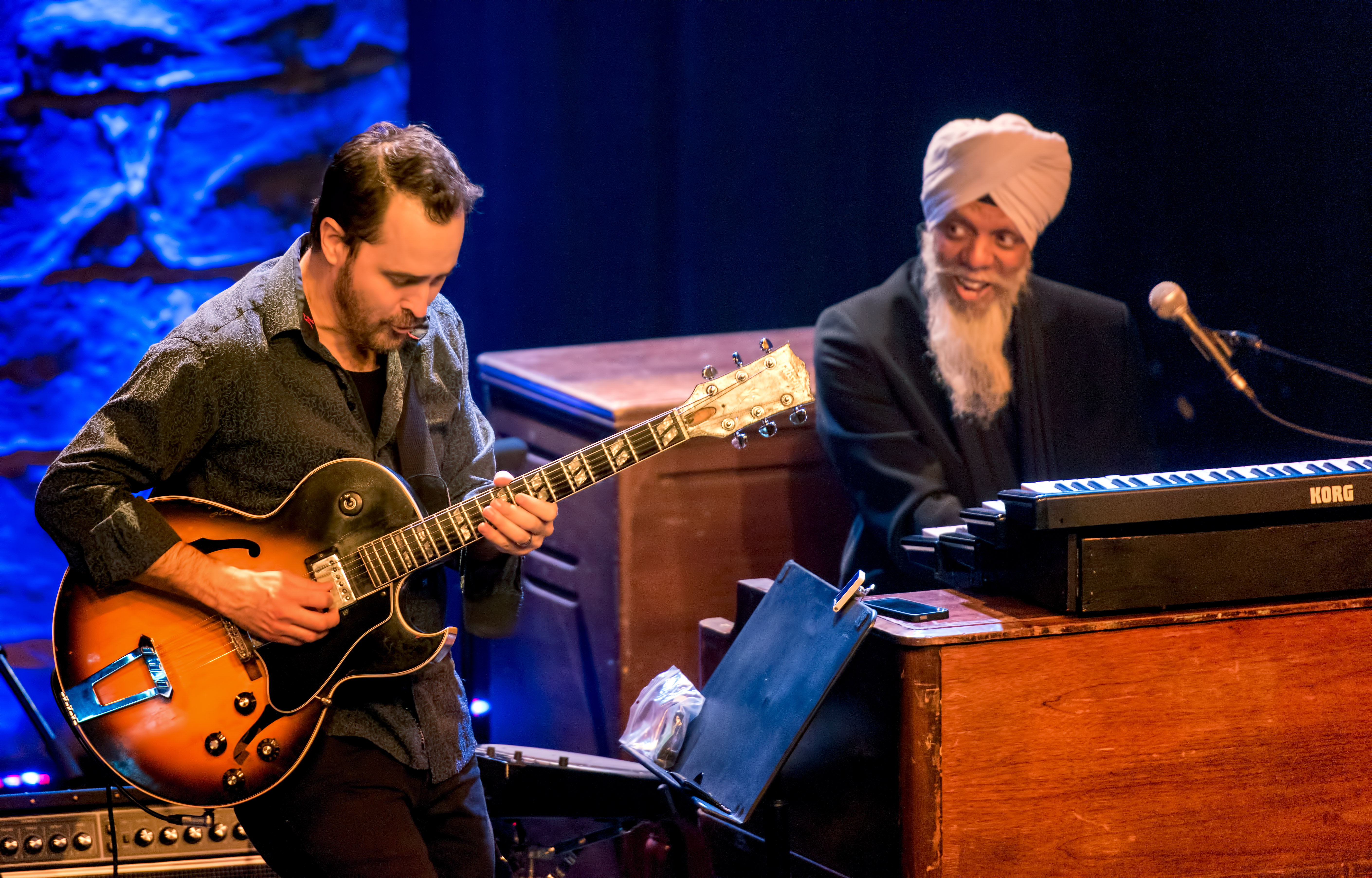 Jonathan Kreisberg And Dr. Lonnie Smith With Evolution At The Montreal International Jazz Festival 2018