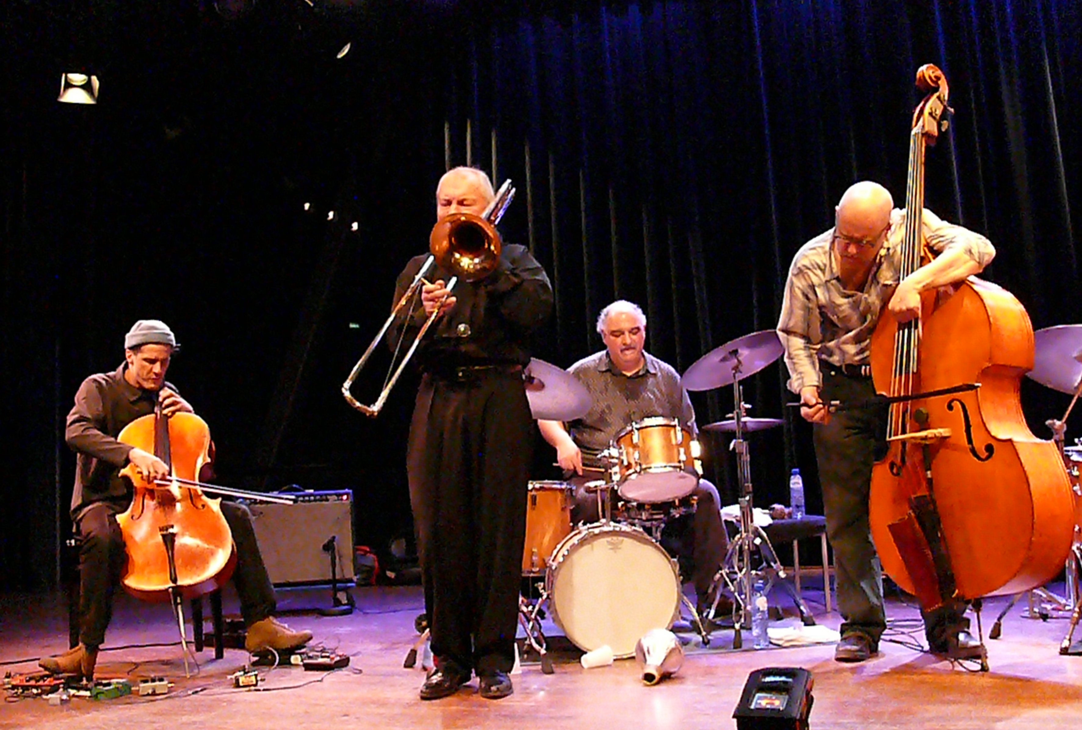 Brotzmann Chicago Tentet at the Bimhuis in Amsterdam, 13 February 2009