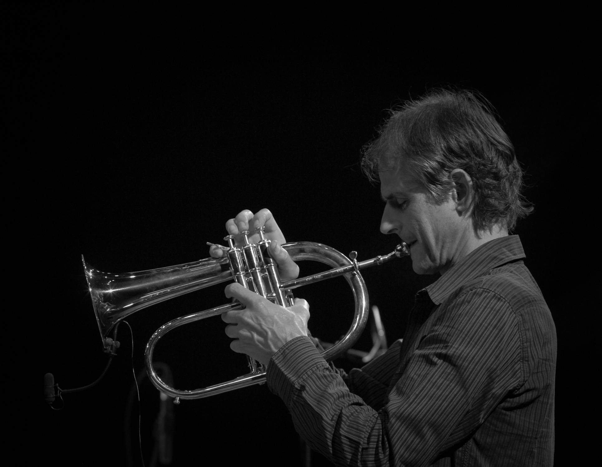 Markus stockhausen, valby summer jazz 2013, copenhagen, denmark