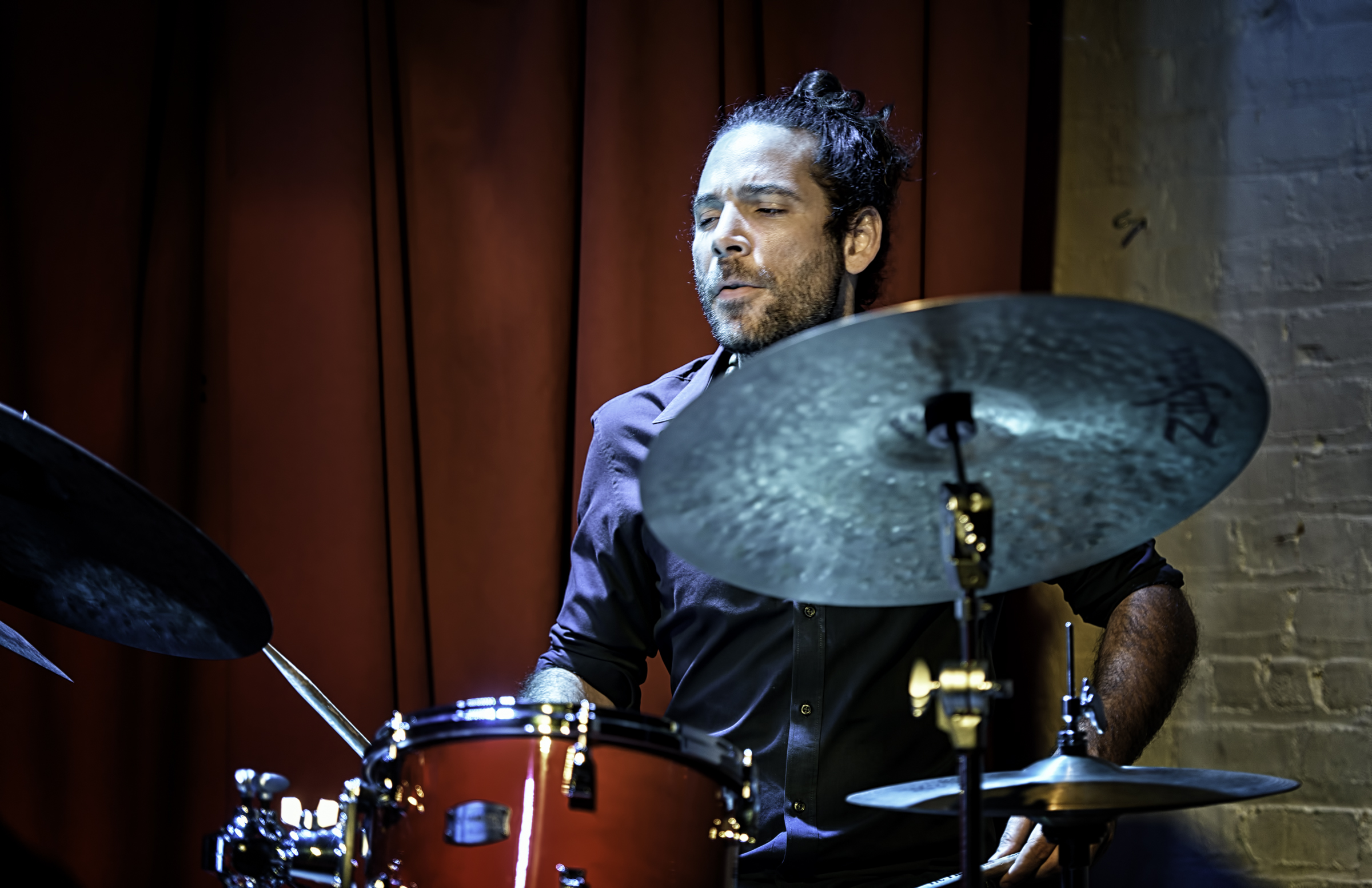 Henry Cole with Miguel Zenon Quartet at Club Bonafide in NYC