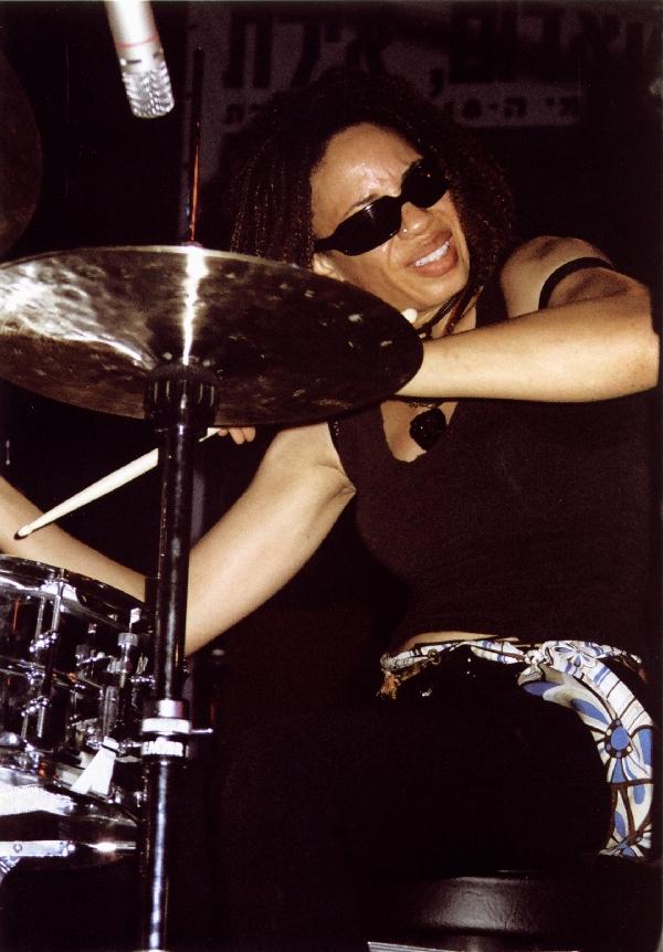 2004-08-26 Cindy Blackman, Red Sea Jazz Festival, Eilat, Israel
