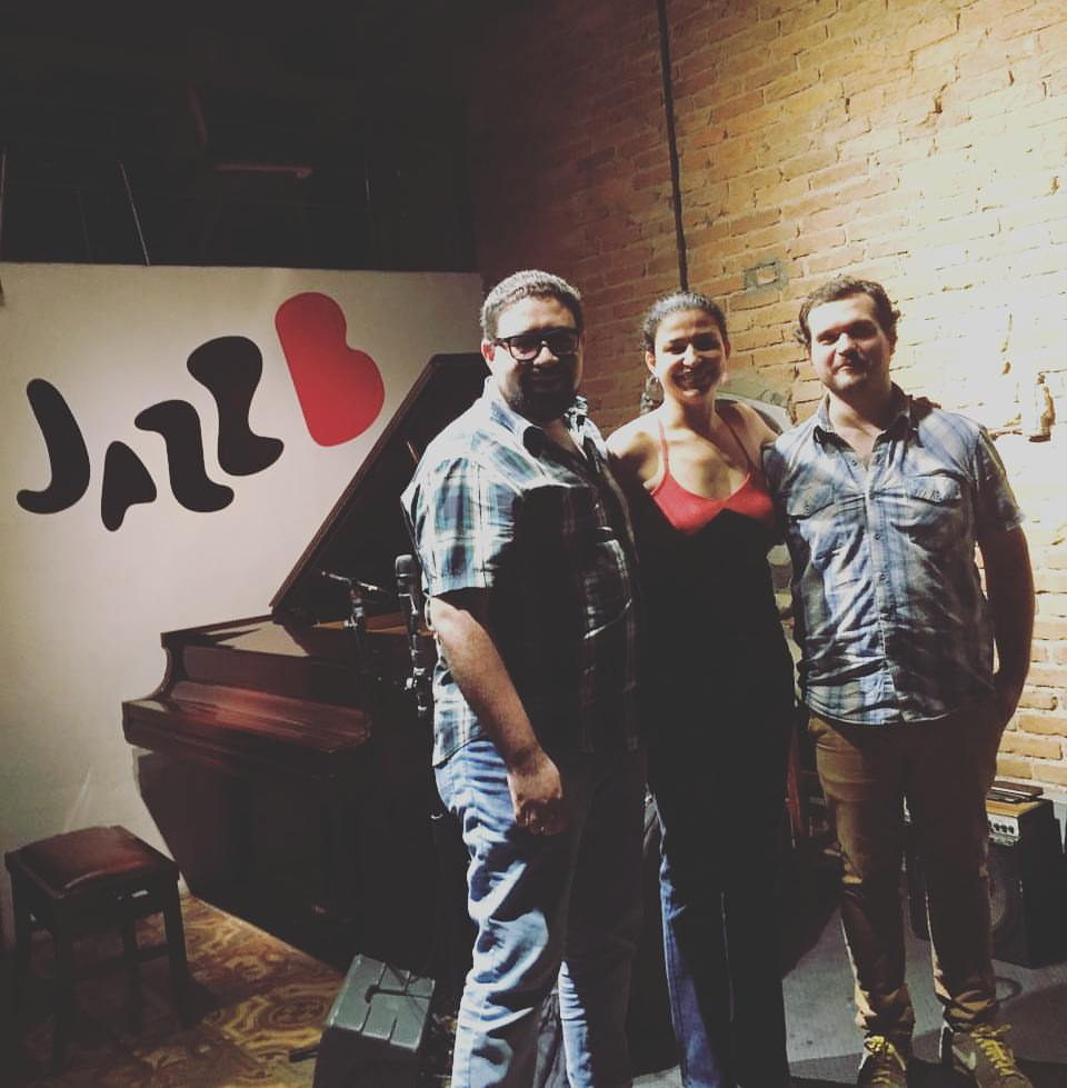 Abelita trio at Jazz B