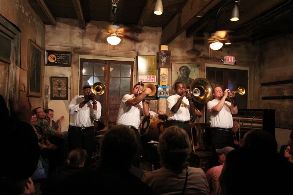 Jack brass band @ preservation hall