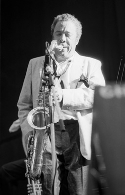 Johnny Griffin 0324313 First Pendley Int. Jazz Fest., UK July 1985 Images of Jazz