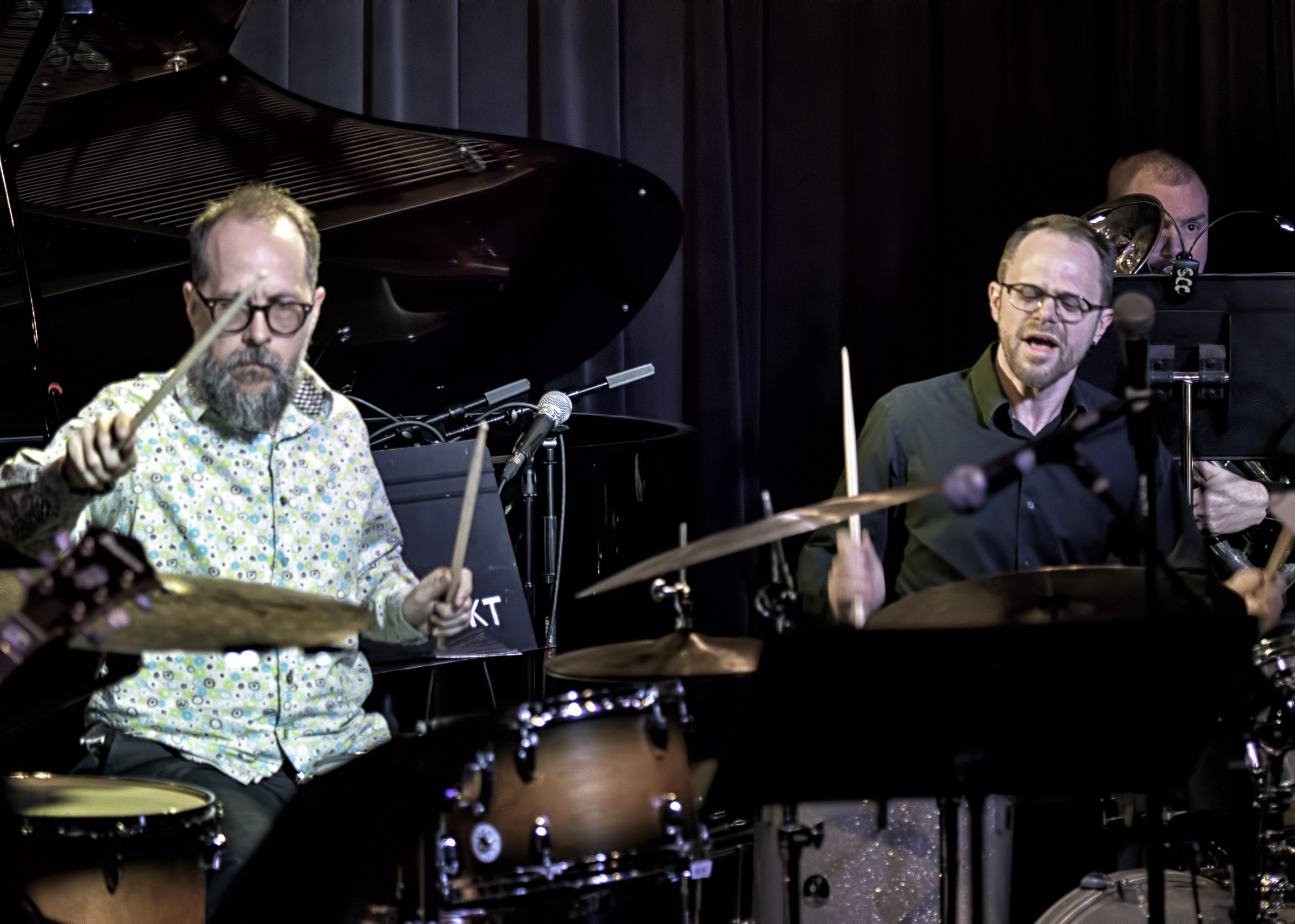 John Hollenbeck And Ryan Anthony With Eric Rasmussen And Scottsdale Community College Jazz Orchestra At The Nash In Phoenix