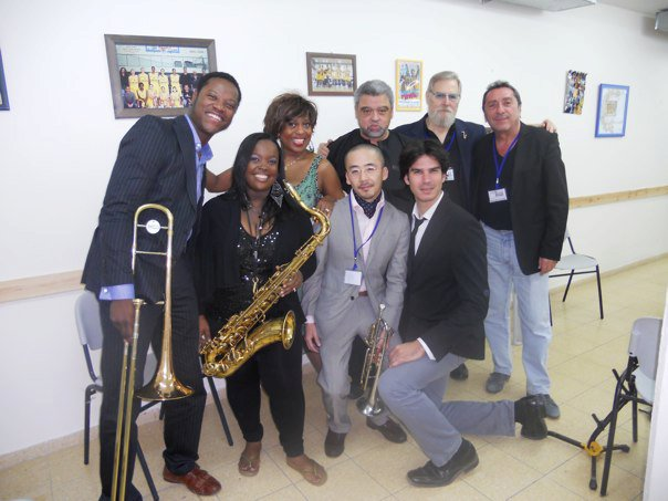 Int'l Super Jazz Festival-Ashdod, Israel with Leonid Ptashka