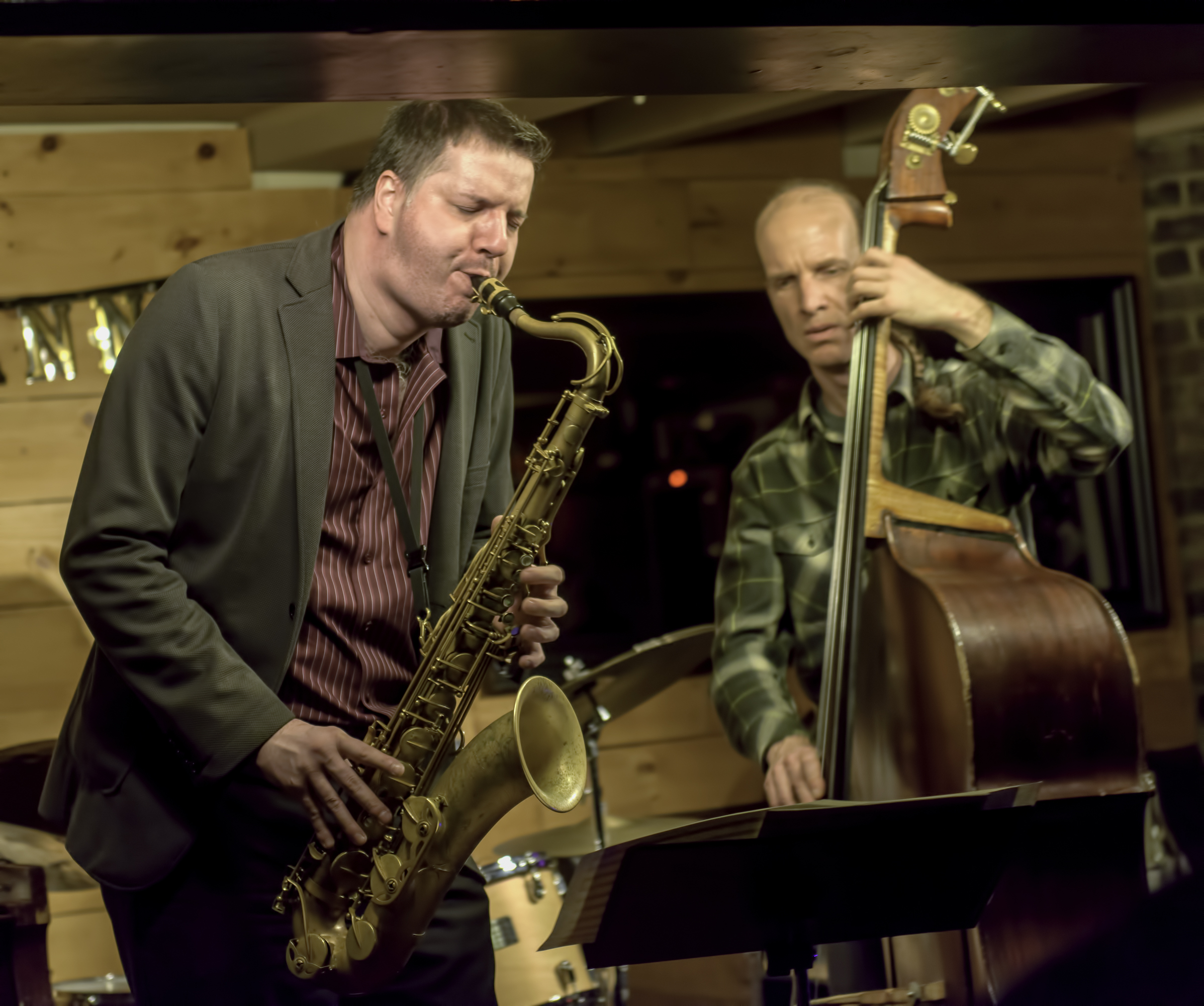 Al McLean and Fraser Hollins at Diese Onze in Montreal