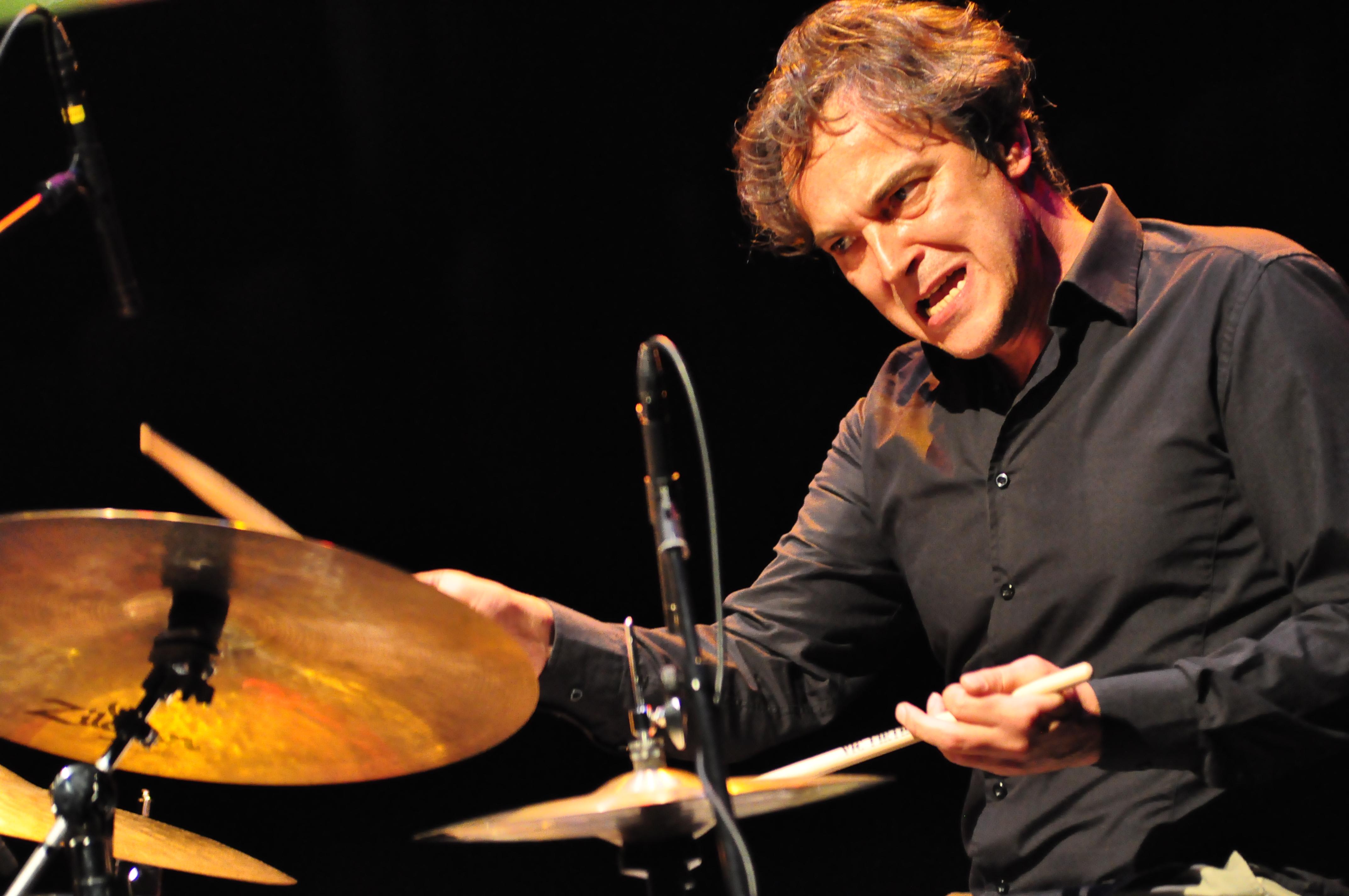 Esad Halilovic of Dusha Connection at Hong Kong International Jazz Festival. By Stephen Cheung