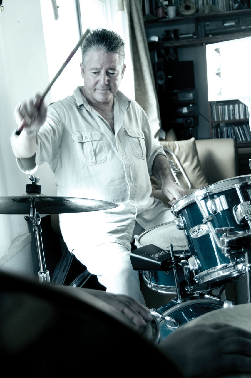 Cuban Drummer Juan Carlos Rojas, 'Peje'