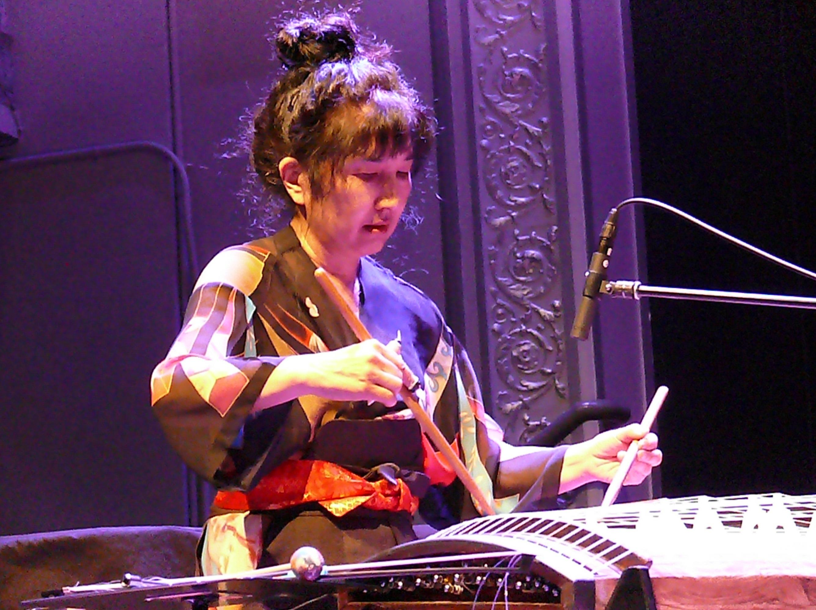 Miya masaoka at the vision festival, new york in june 2013