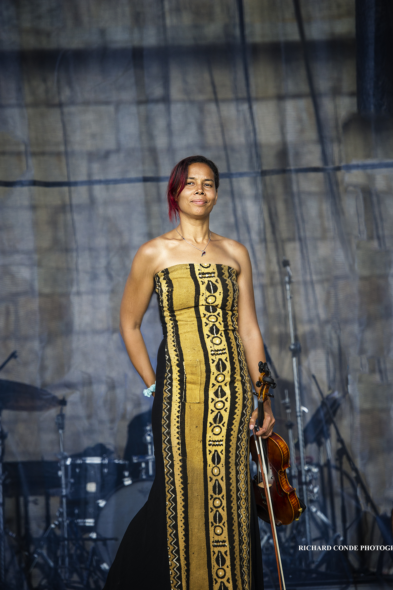 Rhiannon Giddens At The 2017 Newport Jazz Festival