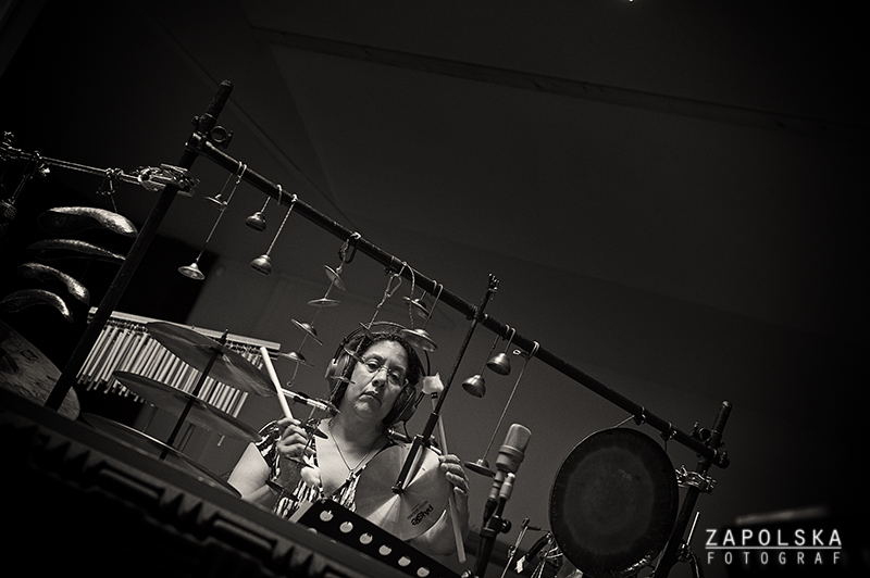 """Marilyn Mazur Recording """"Vesper"""""""