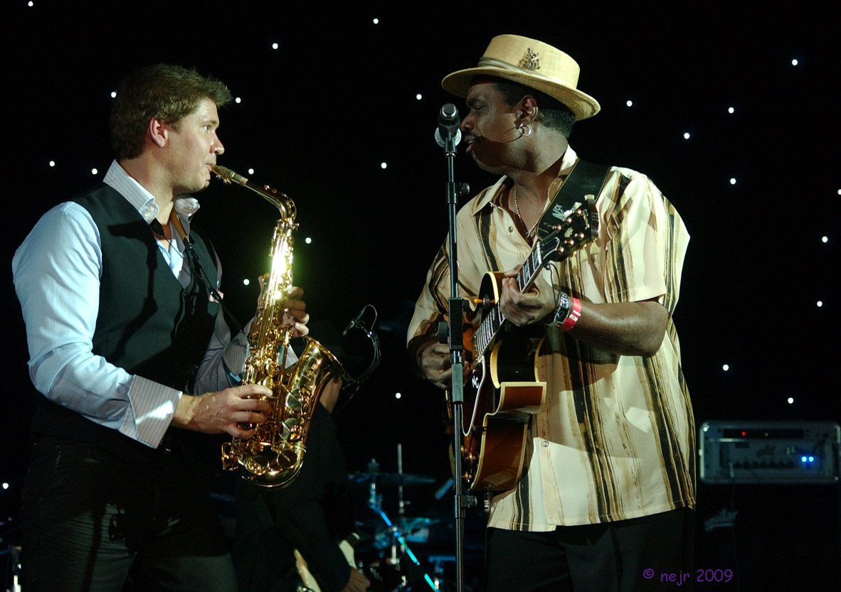 Michael Lington and Nick Colionne