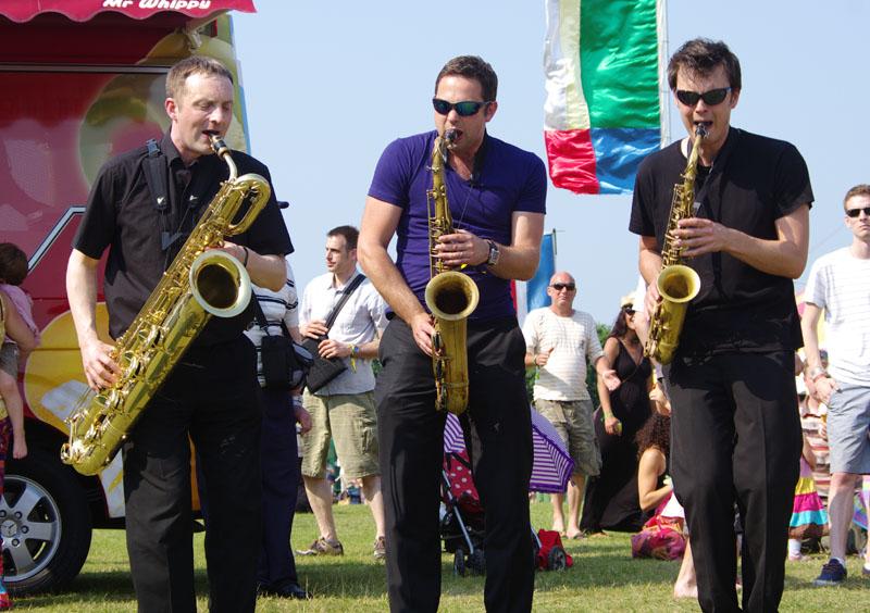 Brass jaw, love supreme jazz festival