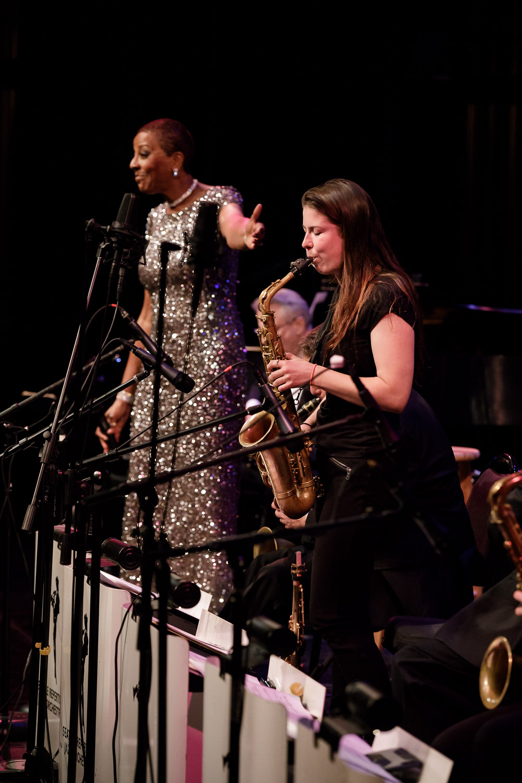 Sidney Hauser solo with Dee Daniels
