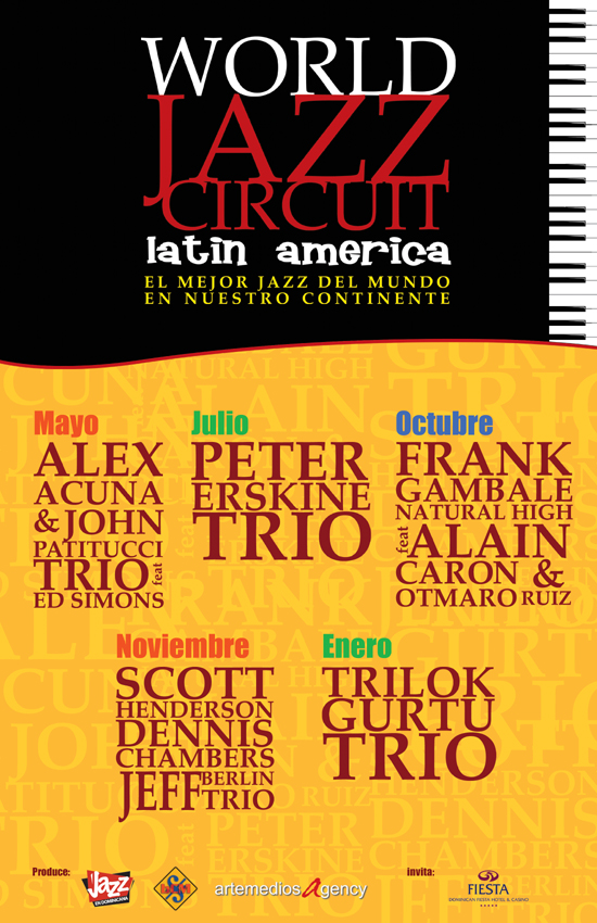 World Jazz Circuit - Latin America 2010