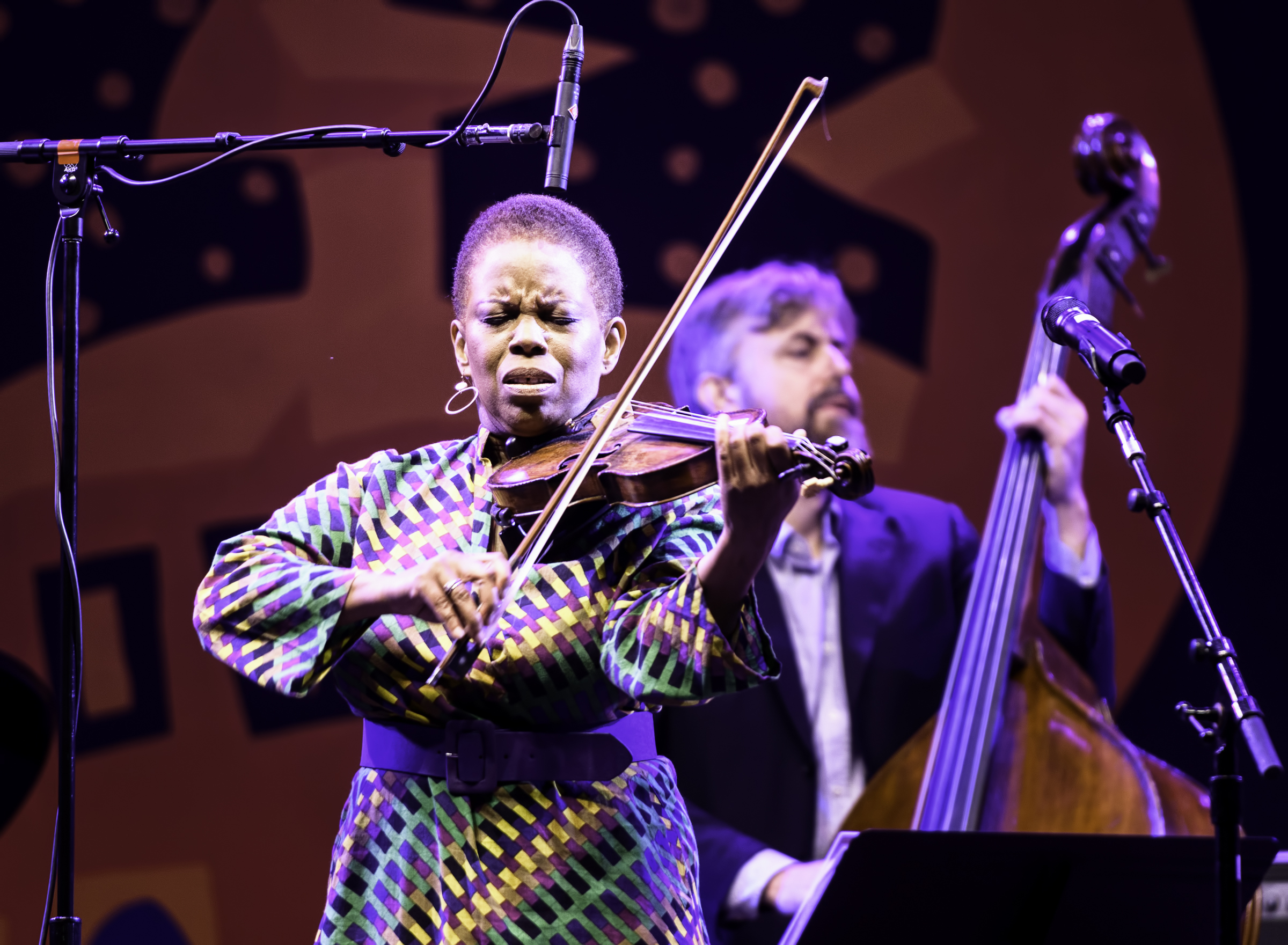 Regina Carter with Simply Ella at the Monterey Jazz Festival
