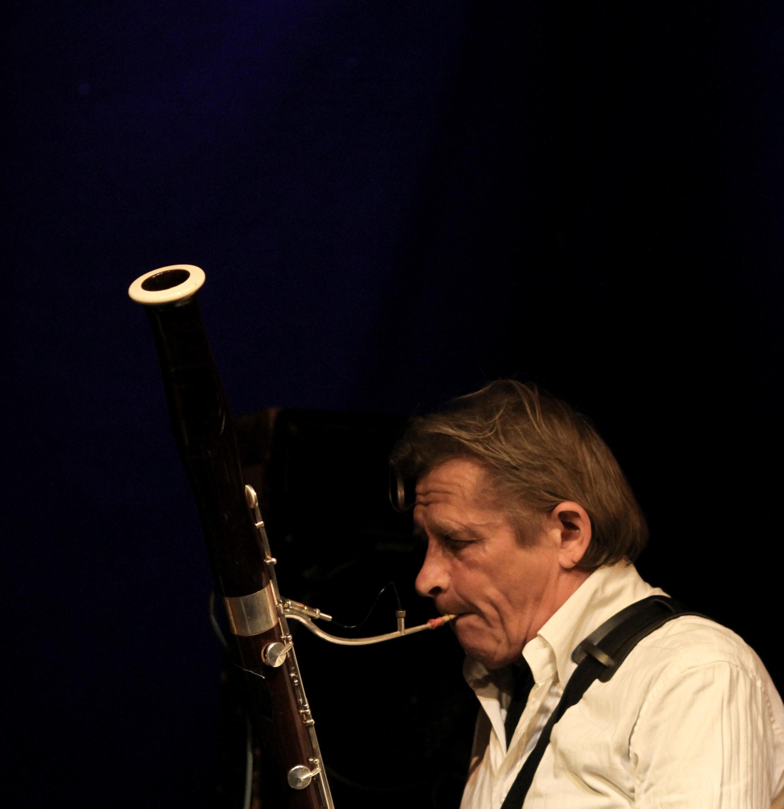 Peter Bastian (Basson) from the Danish Band Bazaar on Valby Summer Jazz 2012, Copenhagen