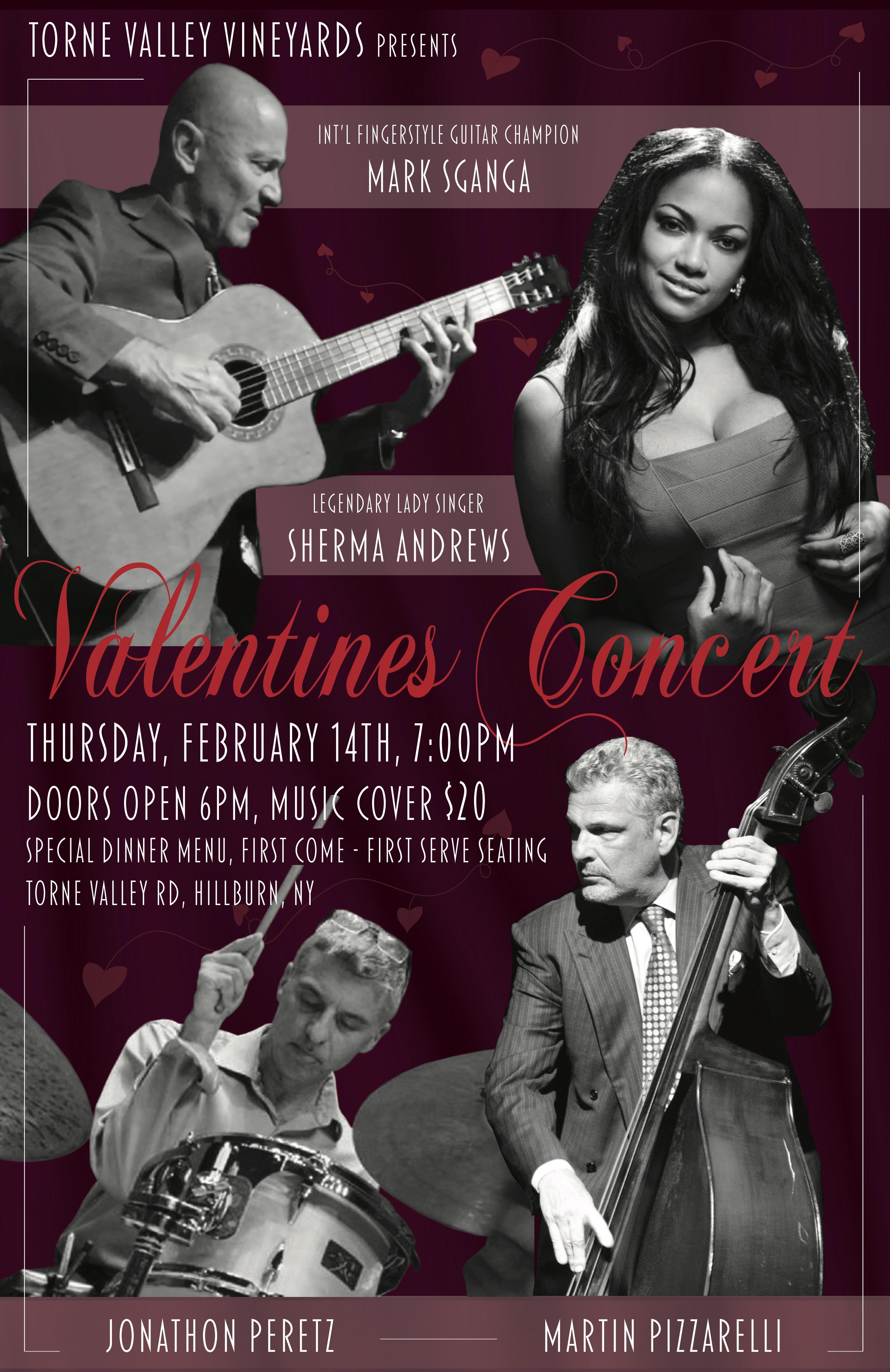 Mark Sganga Valentine Concert!