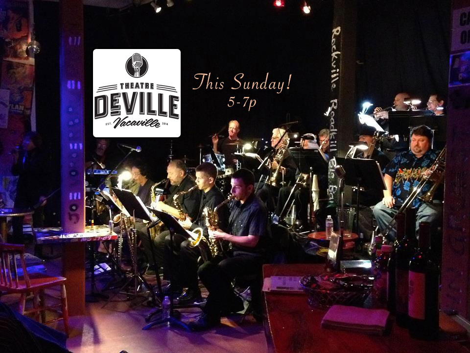 Roadkill Big Band At Theatre Deville In Vacaville