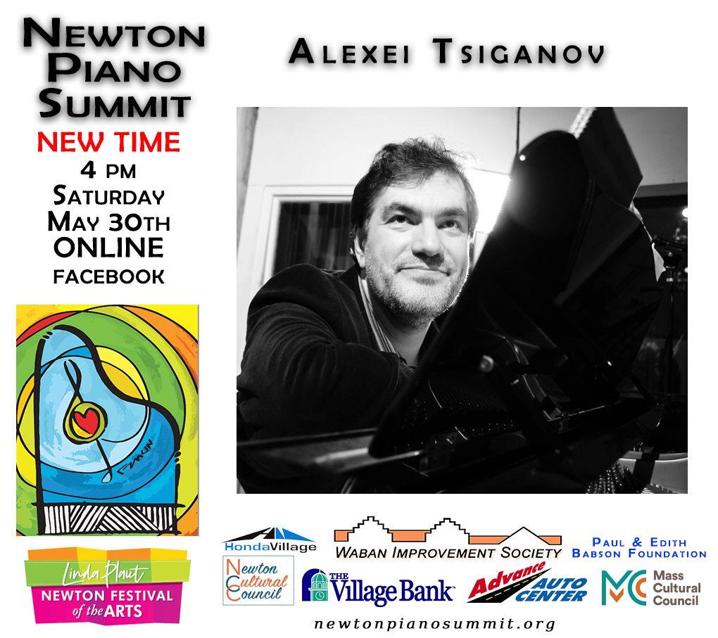 Newton Piano Summit - Alexei Tsiganov