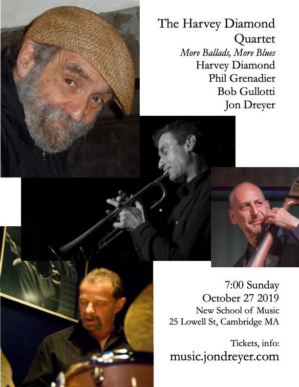 Harvey Diamond Quartet: More Ballads, More Blues