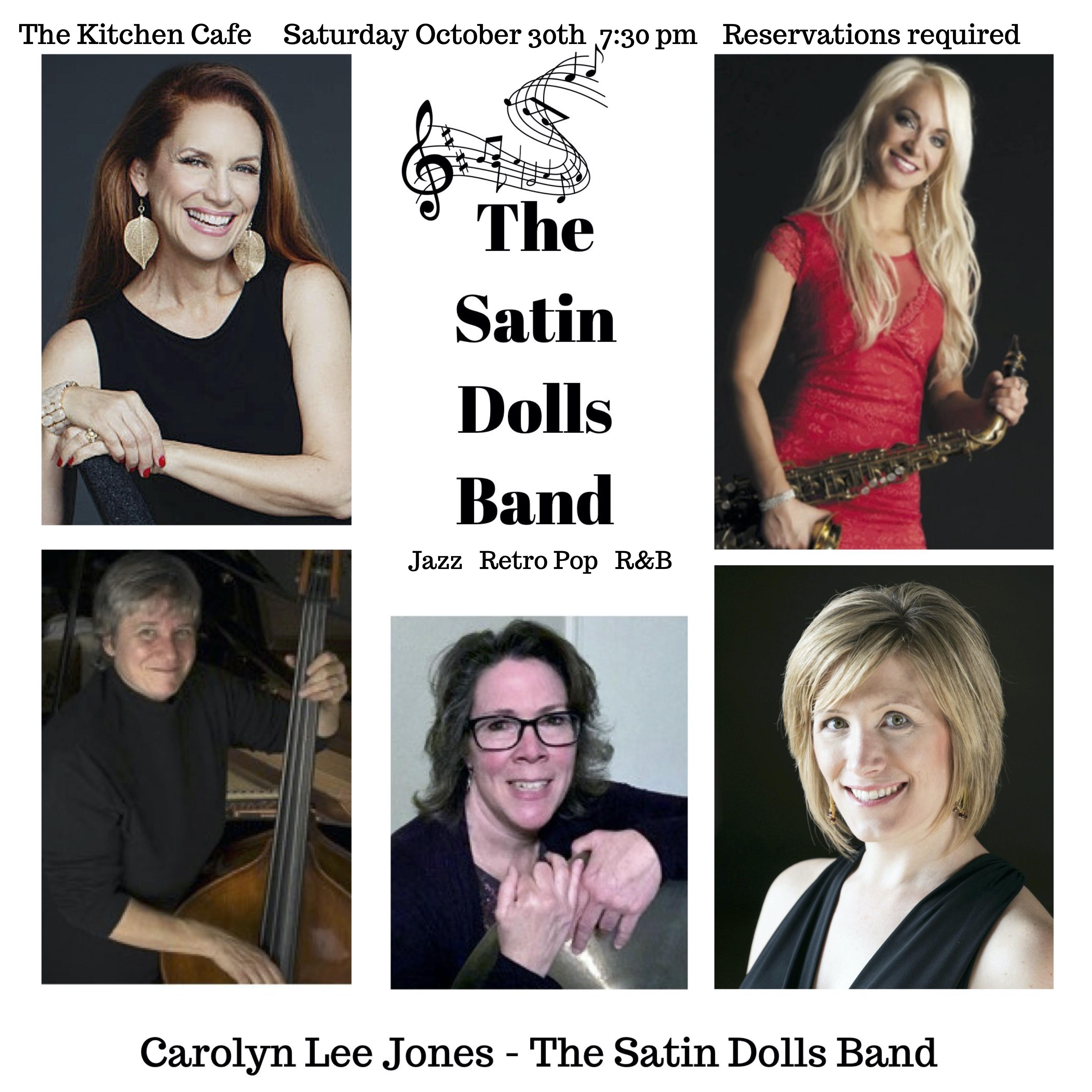 Carolyn Lee Jones - The Satin Dolls Band - Quintet