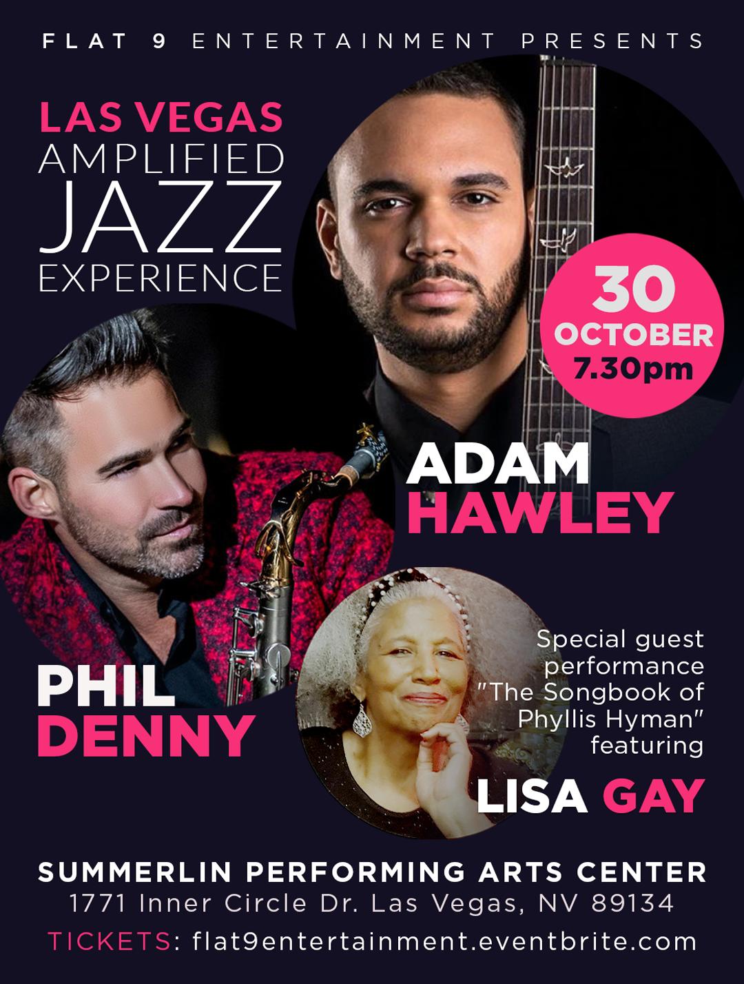 Las Vegas Amplified Jazz Experience - Adam Hawley And Phil Denny