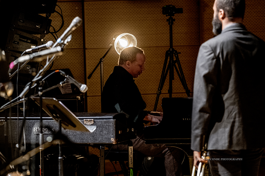 Craig Taborn and Wallace Roney Jr at the2018 Winter Jazz Festival