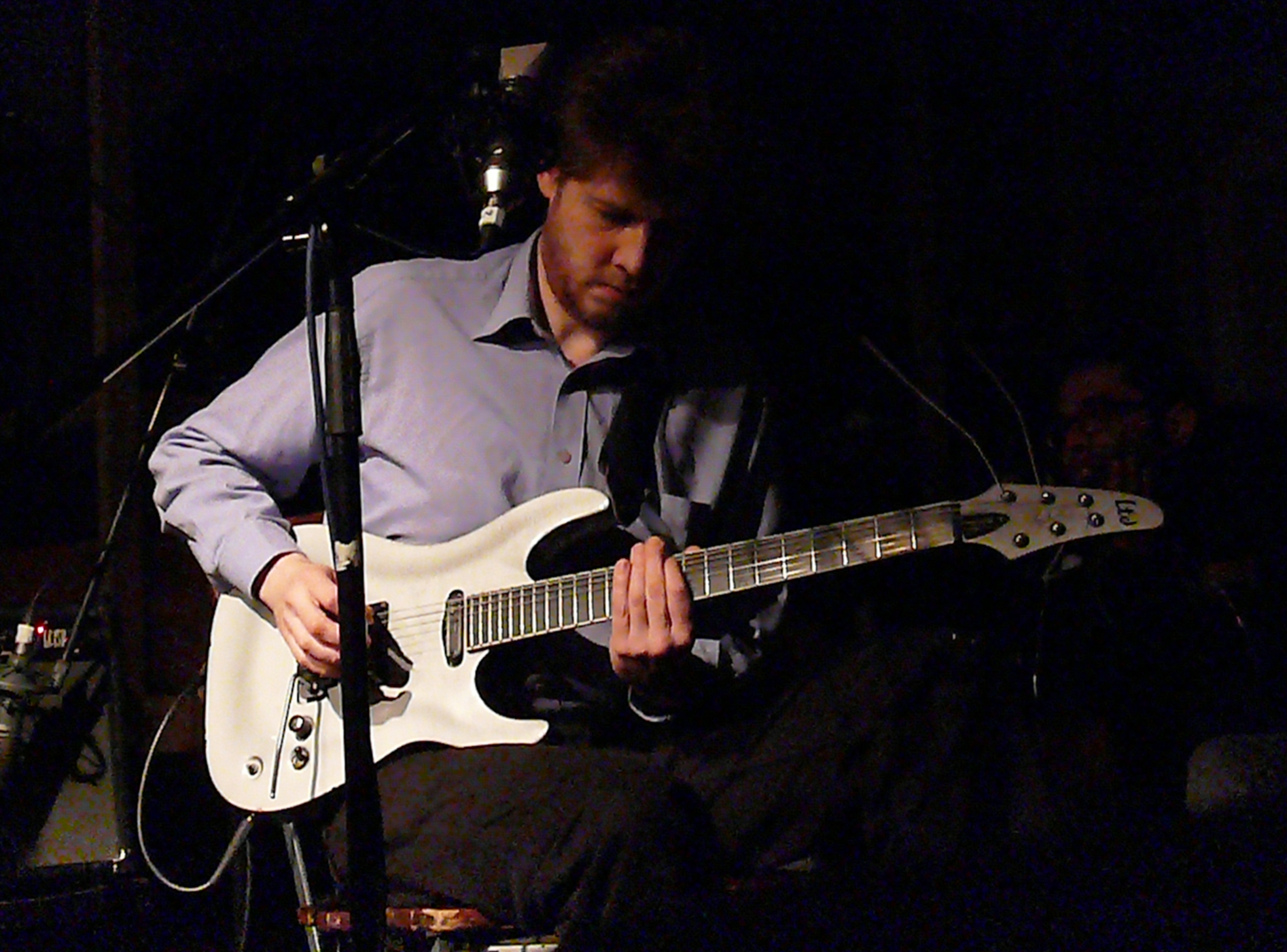 Alex ward at cafe oto, london in february 2013