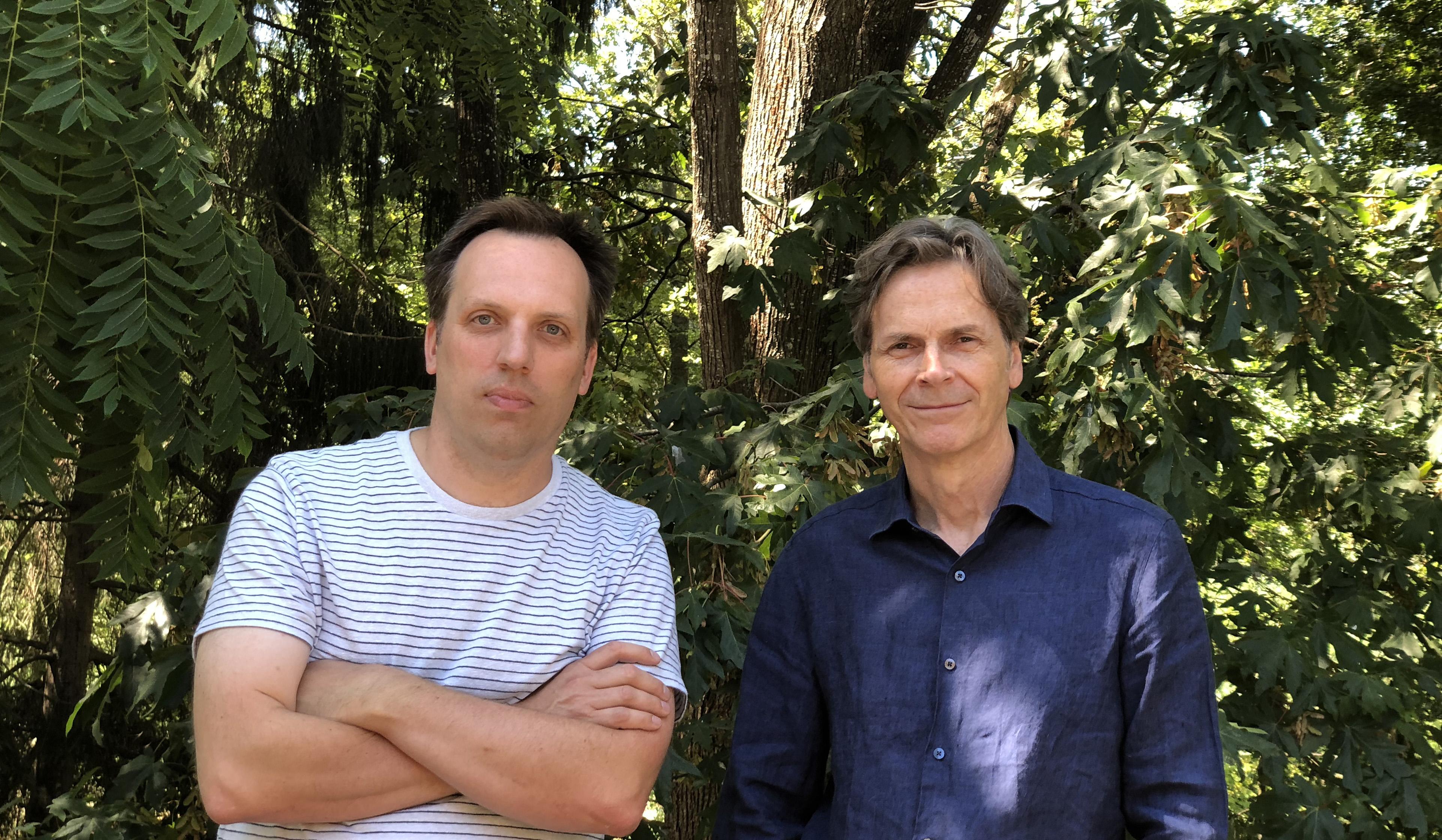 John Bishop and Matt Jorgensen