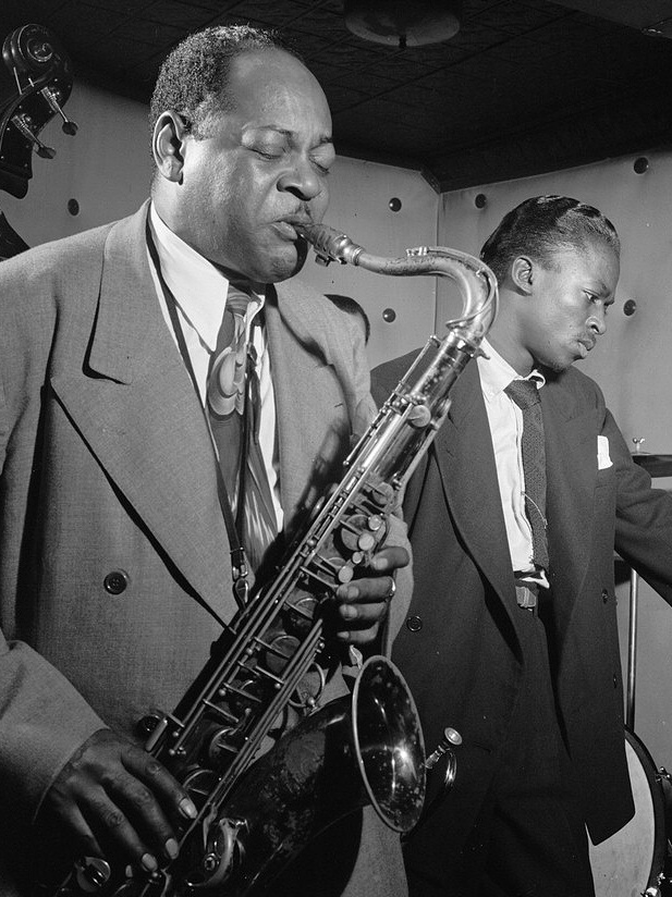 Coleman Hawkins and A Young Miles Davis