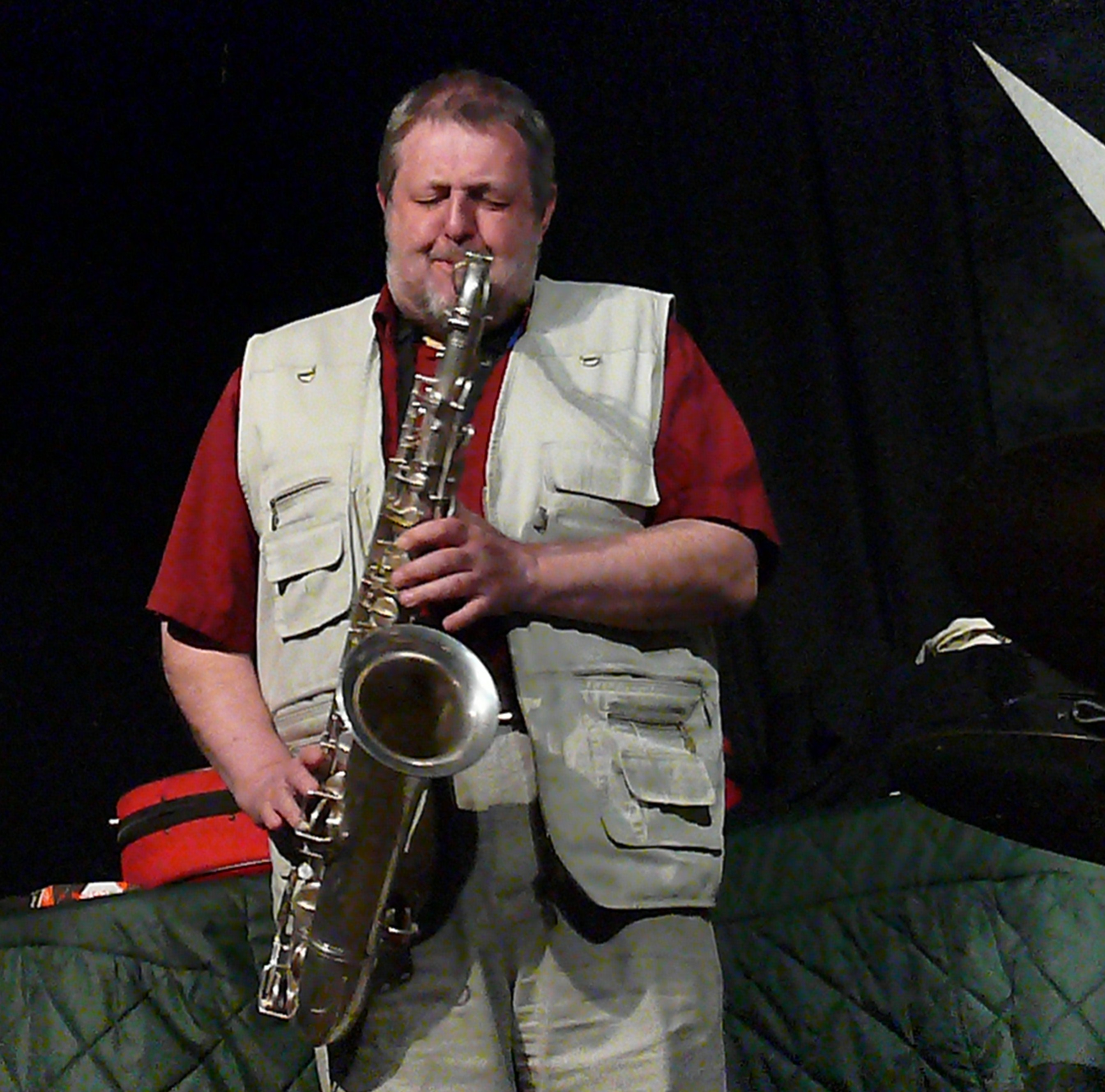 Paul Dunmall at the Vortex, London, February 2010