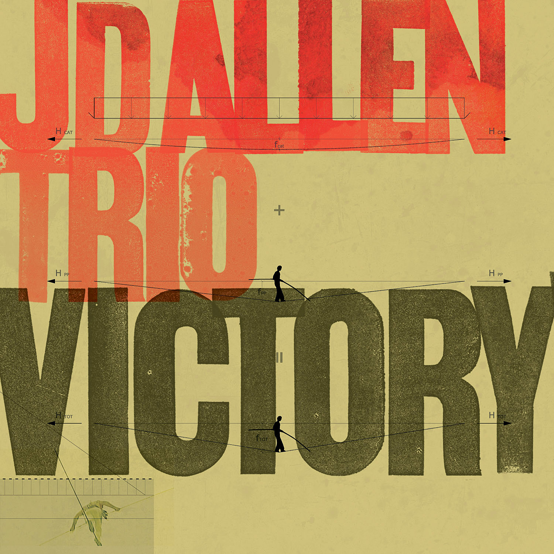 "JD Allen Trio ""Victory!"" CD Cover Art"
