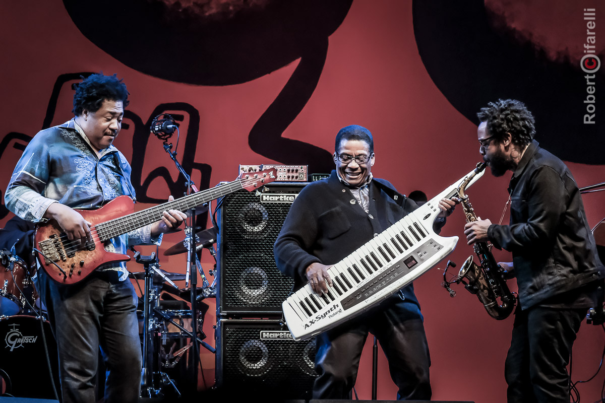 James Genus, Herbie Hancock, Terrace Martin - 60th Monterey Jazz Festival, 2017