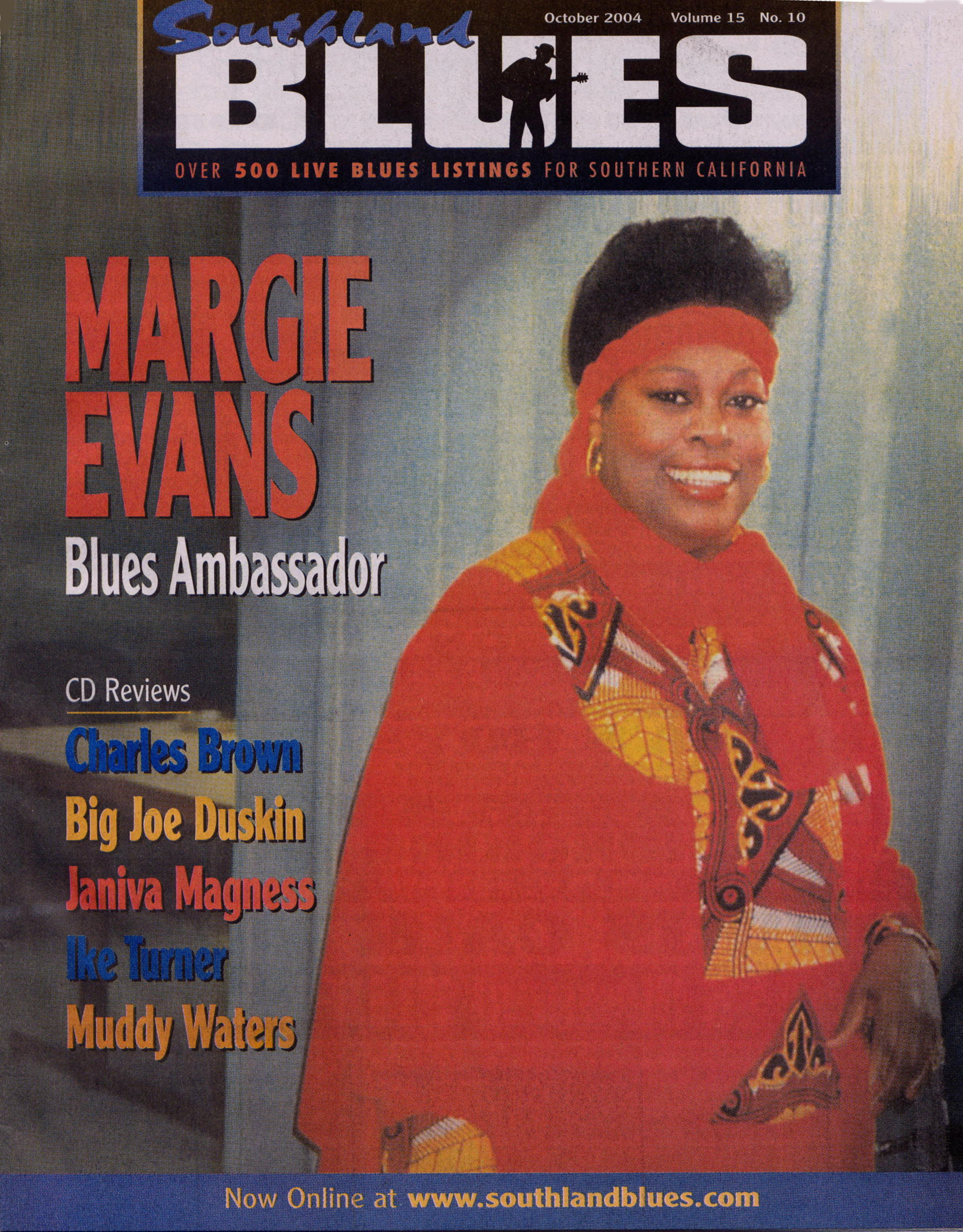 Margie Evans, Ambassador of the Blues