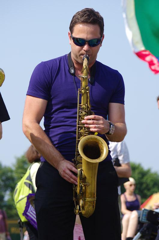 Konrad wiszniewski, brass jaw, love supreme jazz festival