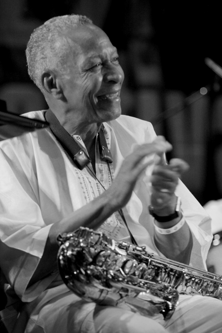 Frank Morgan Performs with Charles McPherson and Donald Harrison at the Chicago Jazz Festival; Chicago 2005