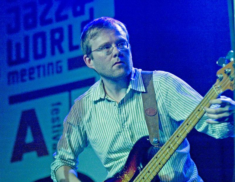 Gulli Gudmundsson, with Eric Vloeimans' Gatecrash, Dutch Jazz & World Meeting, December 3, 2010