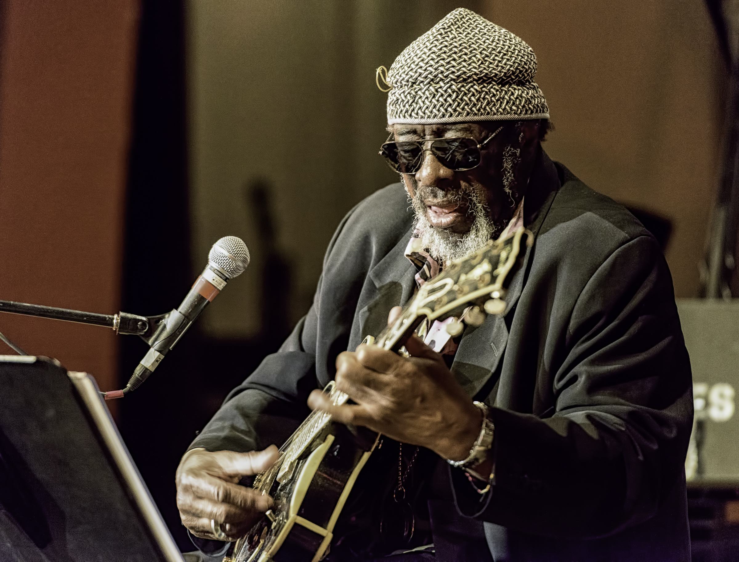 James Blood Ulmer At The NYC Winter Jazzfest 2016